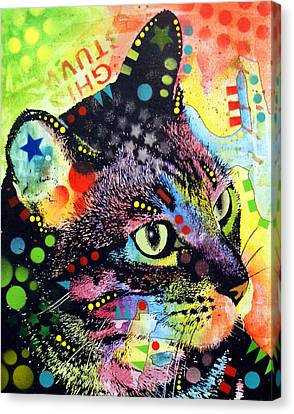Nappy Cat Canvas Print by Dean Russo