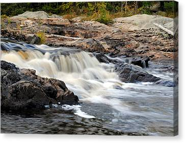 Naraguagus River Canvas Print by Steven Scott