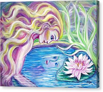 Narcissis Canvas Print