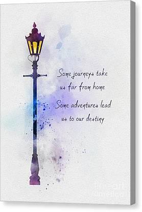 Narnia Canvas Print by Rebecca Jenkins