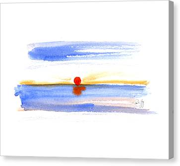 Narragansett Sunrise Canvas Print