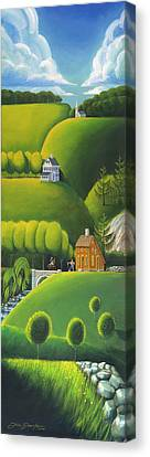 Narrow Foothills Canvas Print