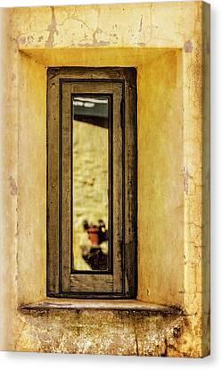 Narrow Reflections Canvas Print