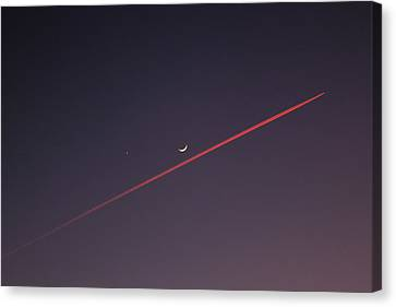 Narrowly Missed The Moon Canvas Print