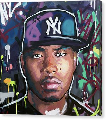 Nas Canvas Print by Richard Day