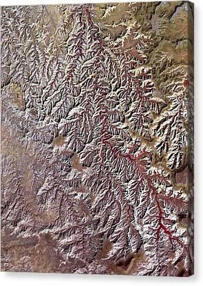 Nasa Image-canyonlands National Park, Utah-2 Canvas Print