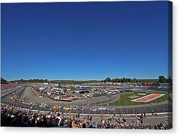 Nascar Canvas Print by Juergen Roth