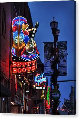 Nashville - Broadway 002 Canvas Print