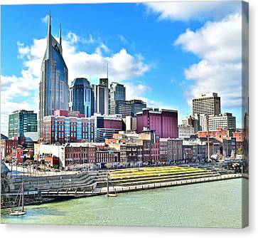 Nashville Eight By Ten Canvas Print by Frozen in Time Fine Art Photography