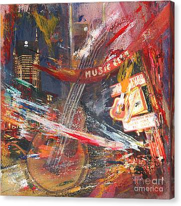 Nashville Canvas Print by Katrin Keiningham