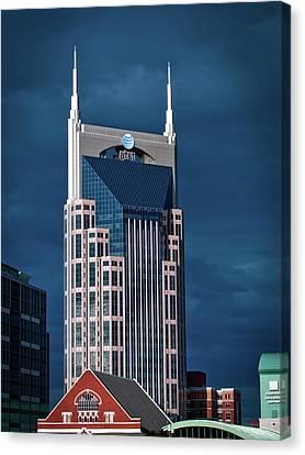 Nashville Landmarks Canvas Print by Mountain Dreams