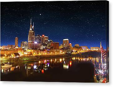 Nashville Nights Canvas Print
