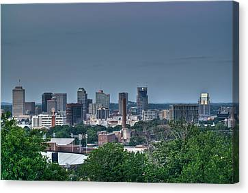 Nashville Skyline 2 Canvas Print by Douglas Barnett