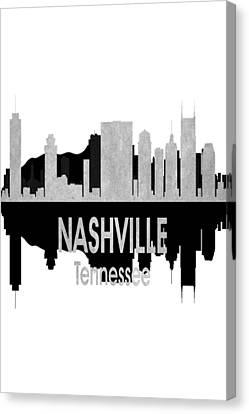 Nashville Tn 4 Vertial Canvas Print by Angelina Vick
