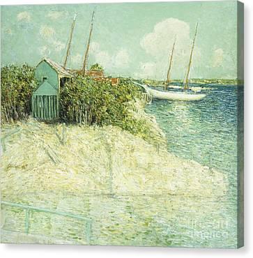 Nassau, Bahamas Canvas Print by Julian Alden Weir