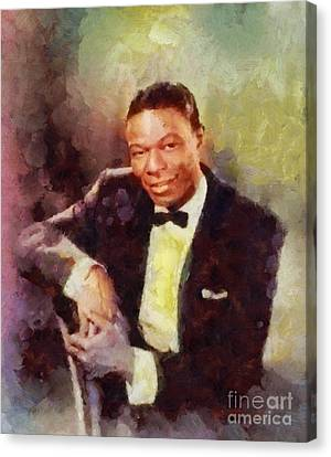 Nat King Cole, Singer Canvas Print