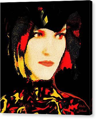 Profile Canvas Print - Natali by Natalie Holland