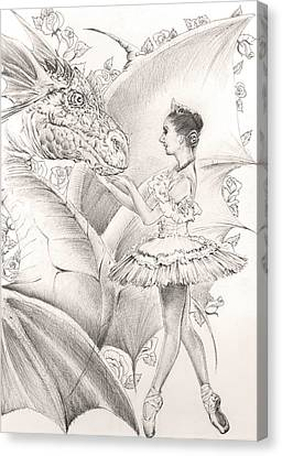 Natalia Canvas Print by Alexey Gerasimov