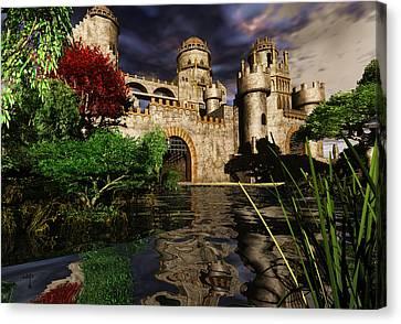 Camelot Canvas Print - Natalie's Castle by Steven Palmer