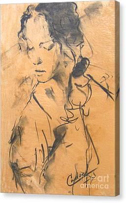 Natasha Canvas Print by Debora Cardaci