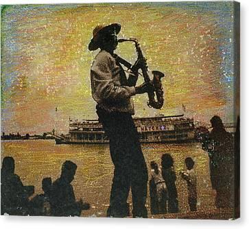Natchez Canvas Print
