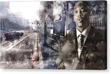 Nate 005555 Canvas Print