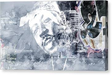 Nate Graffitti 3 Canvas Print