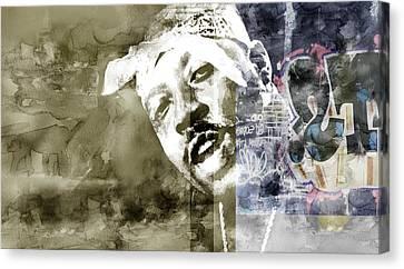 Nate Graffitti 5 Canvas Print