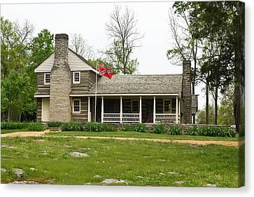 Nathan Bedford Forrest Boyhood Home 3 Canvas Print by Douglas Barnett