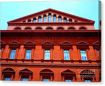 National Building Museum 1 Canvas Print by Randall Weidner