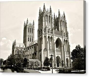 National Cathedral In Washington Dc Canvas Print