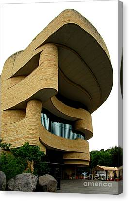 Smithsonian Museum Canvas Print - National Museum Of The American Indian 1 by Randall Weidner