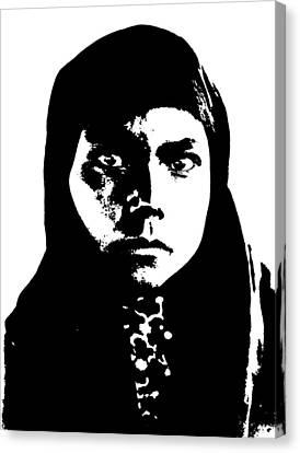 Native American 11 Curtis Canvas Print