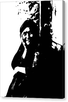 Native American 9 Curtis Canvas Print by David Bridburg
