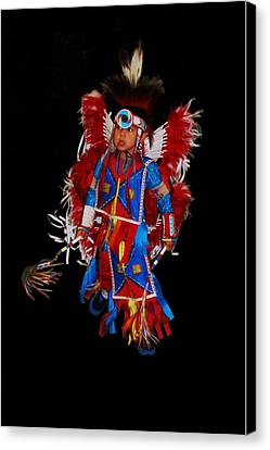 Native American Dancer Canvas Print