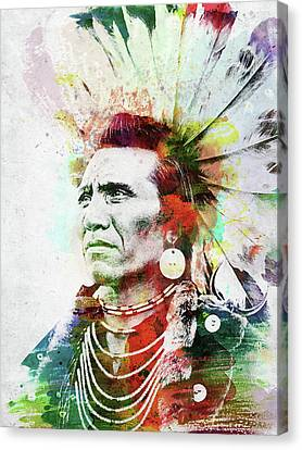 Native American Indian 2 Canvas Print