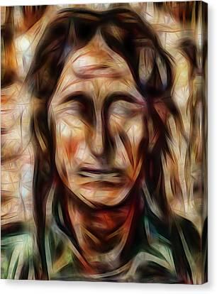 Native Nightwalker Canvas Print