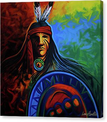 Native Colors Canvas Print