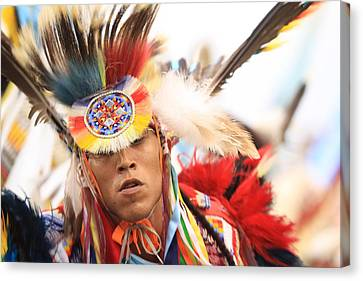 Canvas Print featuring the photograph Native Pride by Kate Purdy
