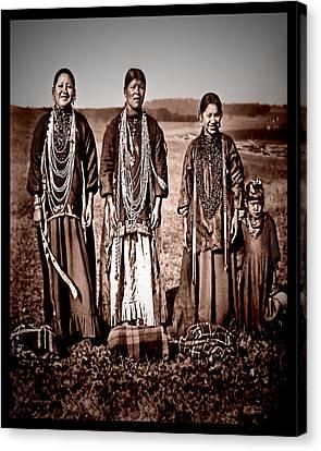 Native Pride Canvas Print by Mark Allen