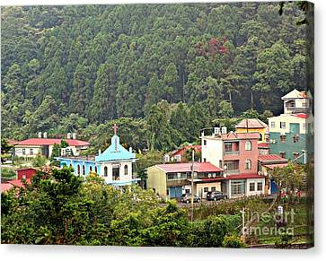 Canvas Print featuring the photograph Native Village In Taiwan by Yali Shi