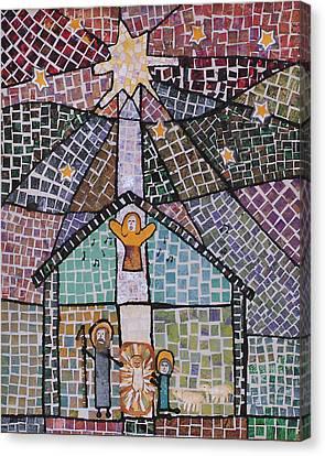 Nativity 1 Canvas Print by Carol Cole