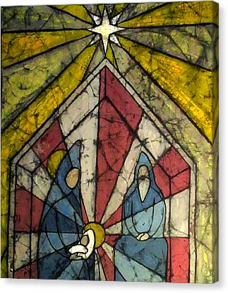 Nativity Canvas Print by Brenda Kato