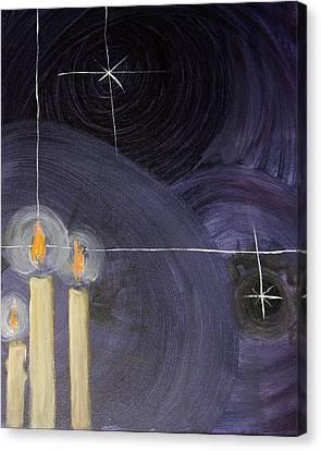 Nativity Canvas Print by Jonathan Kotinek