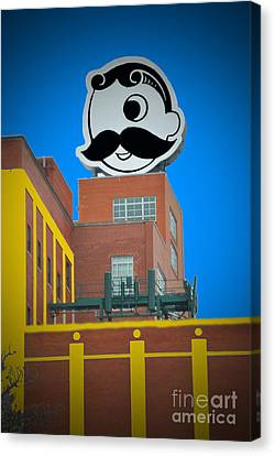 Natty Boh Skyline Canvas Print by Jost Houk