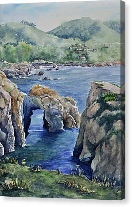 Natural Arch - Carmel Canvas Print