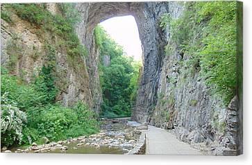 Natural Bridge Virginia Canvas Print
