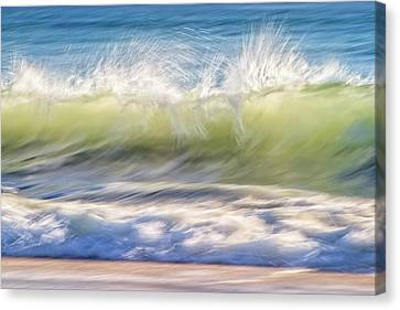 Canvas Print featuring the photograph Natural Chaos, Quinns Beach by Dave Catley