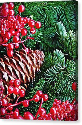 Natural Christmas 2 Canvas Print