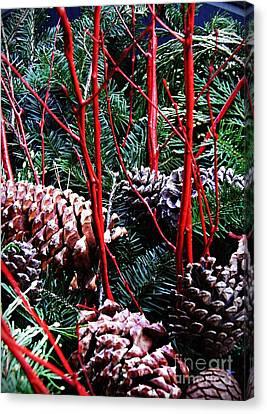 Natural Christmas Canvas Print